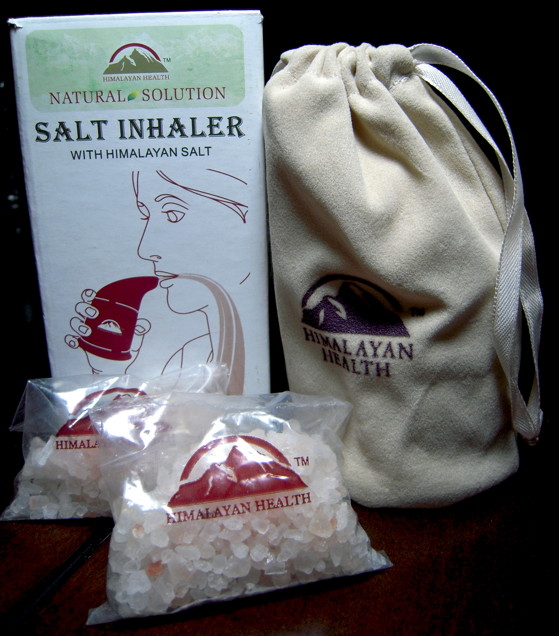 Himalayan Salt Inhaler, COPD, Asthma, Allergies, hay fever, snoring, smoke, air pollution
