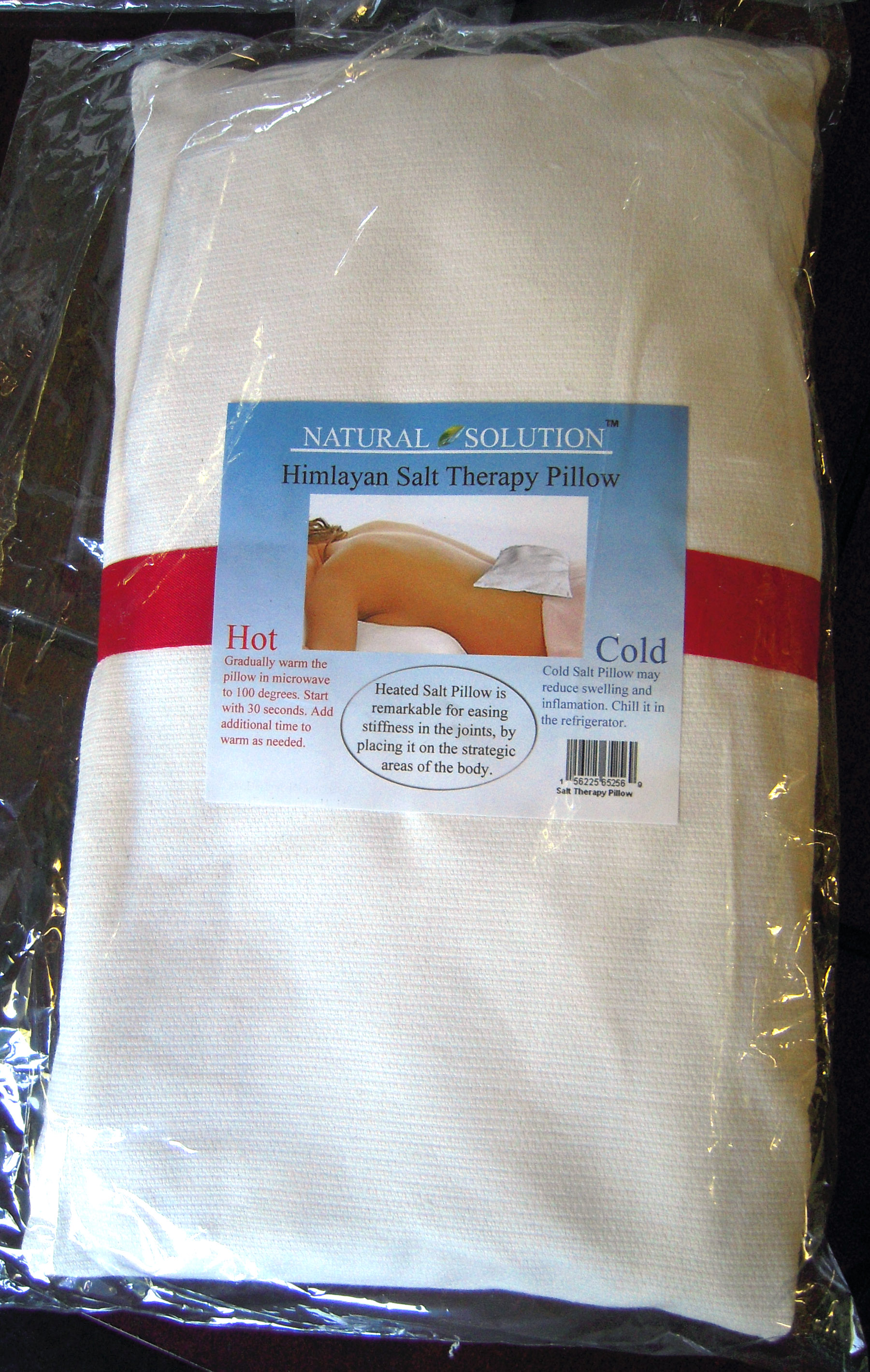 Hot Cold Therapy Himalayan Salt Pillow